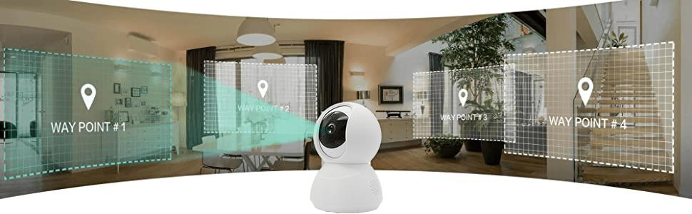 PTZ camera, pan camera, 360 camera, ip camera, rotate camera, indoor camera, baby monitor
