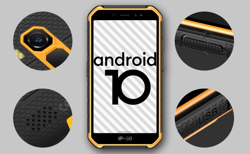 ulefone android 10 rugged smartphone unlocked