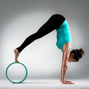 yoga wheel roller