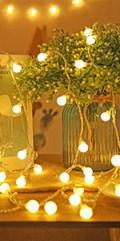 100 LED Globe String Lights
