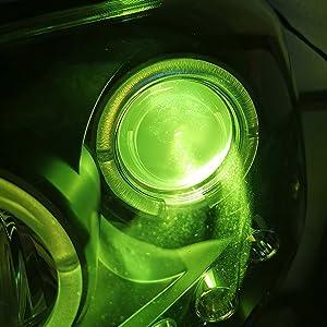Lime Green LED Bulbs