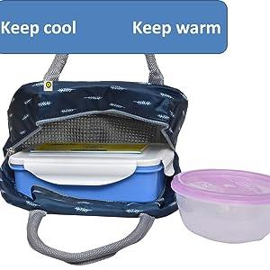 Keep cool & Keep warm lunch bag