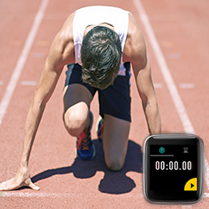 counter down watch for running sports
