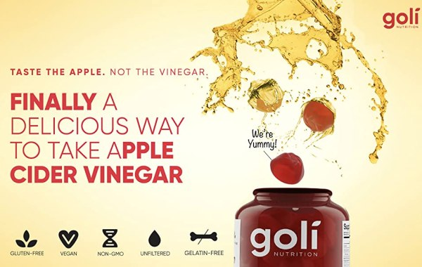 Apple Cider Vinegar Gummy Vitamins by Goli Nutrition