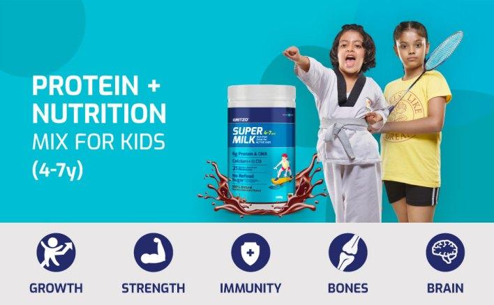 مزيج البروتين + التغذية للأطفال (4-7 سنوات)