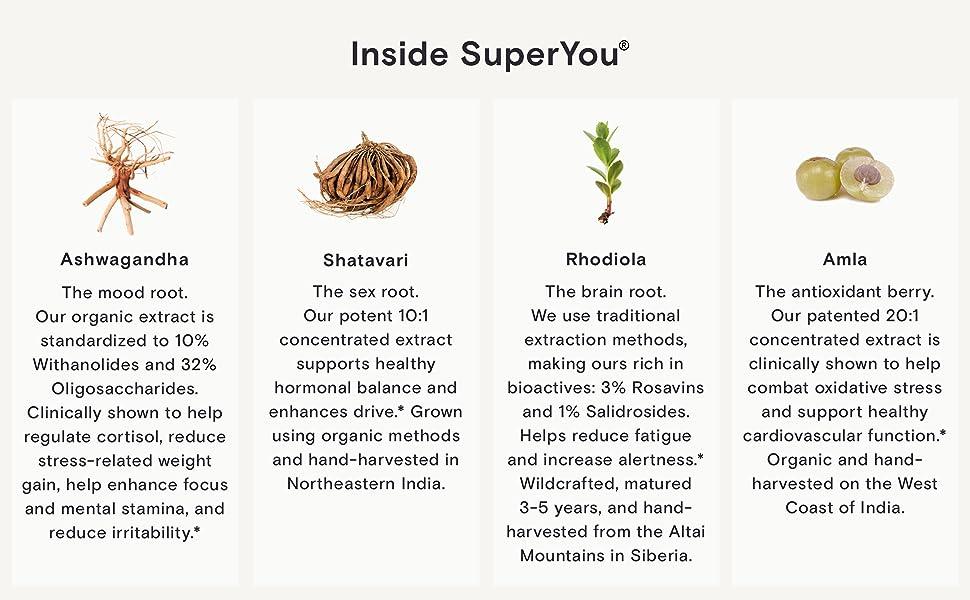 SuperYou Ingredients