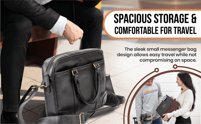 Spacious storage & comfortbale for travel