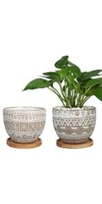 Retro Ceramic Planter