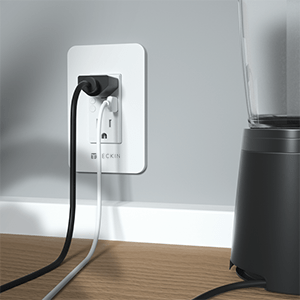 2 AC Outlets and 1 USB Individually Controlled