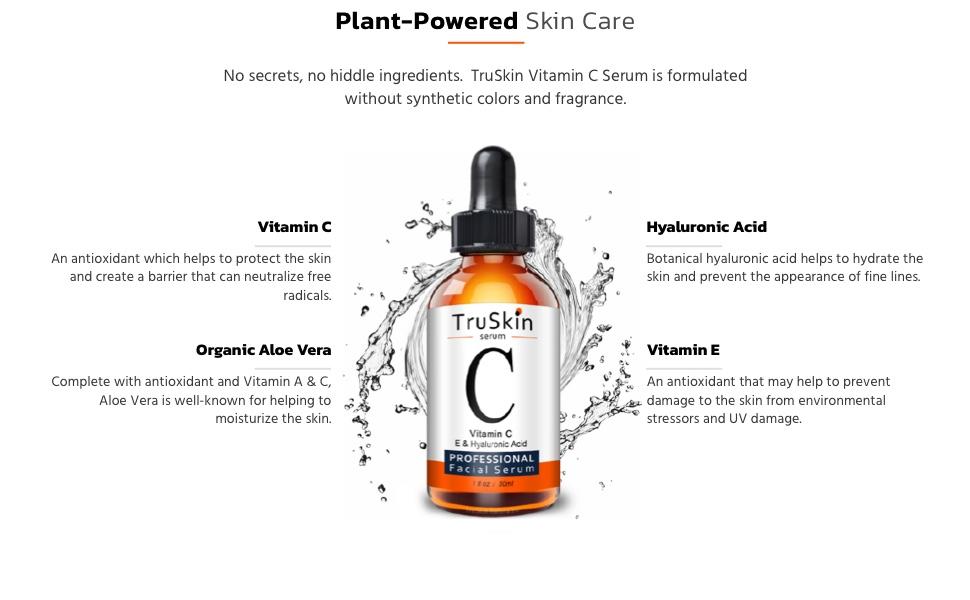Vitamin C Serum for Face Ingredients