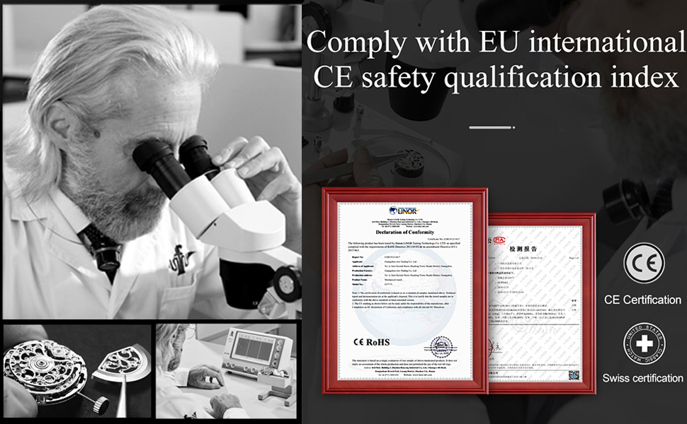 Swiss certified
