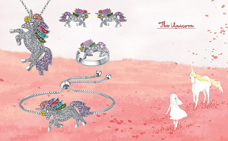 SHWIN Unicorn Necklace
