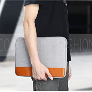 Grey canvas leather