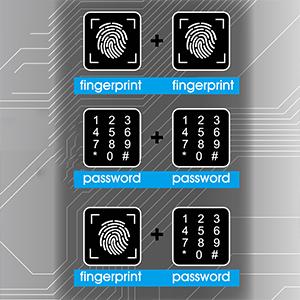 Double ID Kombinasyon Modu - daha yüksek güvenlik seviyesi