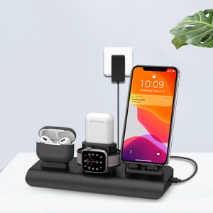 apple charging station iPhone AirPods wireless charger