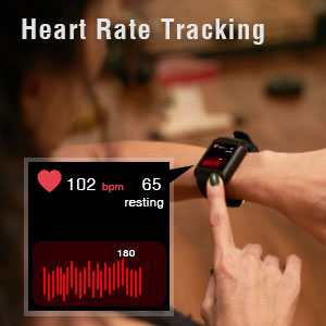 Blackview Smart Watch Fitness Tracker Activity Tracker with Heart Rate Sleep Monitor