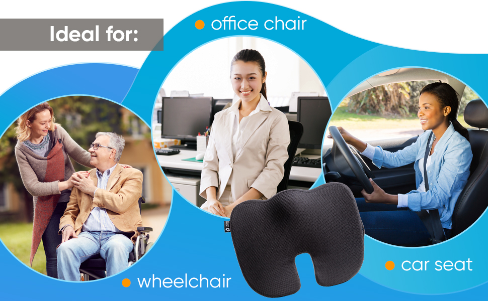 Seat Cushion for office chair 5 Stars United
