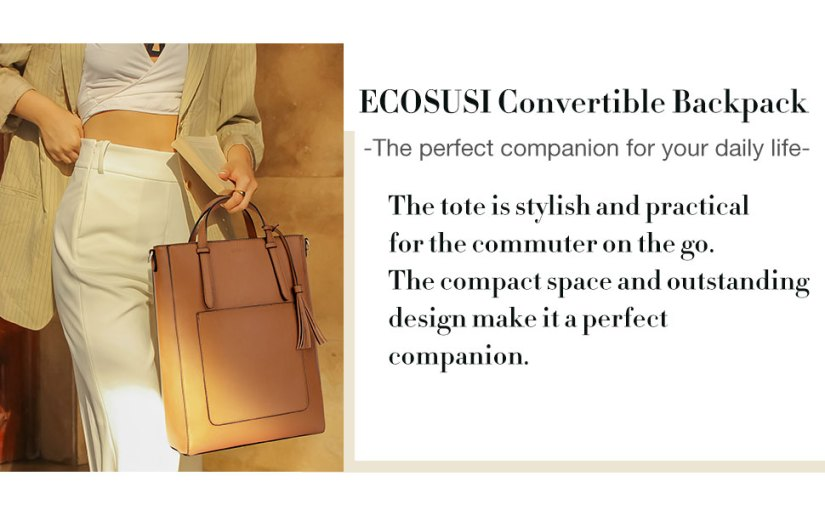 convertible backpack for women
