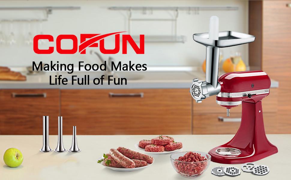 Meat Grinder attachment for kitchenaid mixer