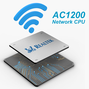 dedicated network CPU for 1200mbps dual band wifi repeater