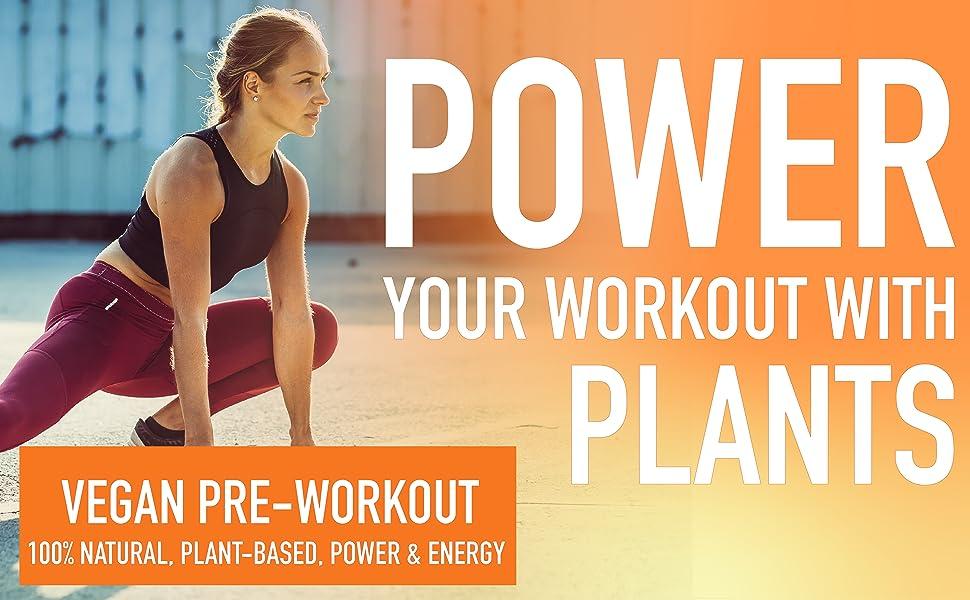 Vegan Preworkout - Natural Workout Powder