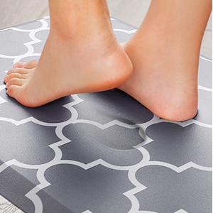 cushioned kitchen rug
