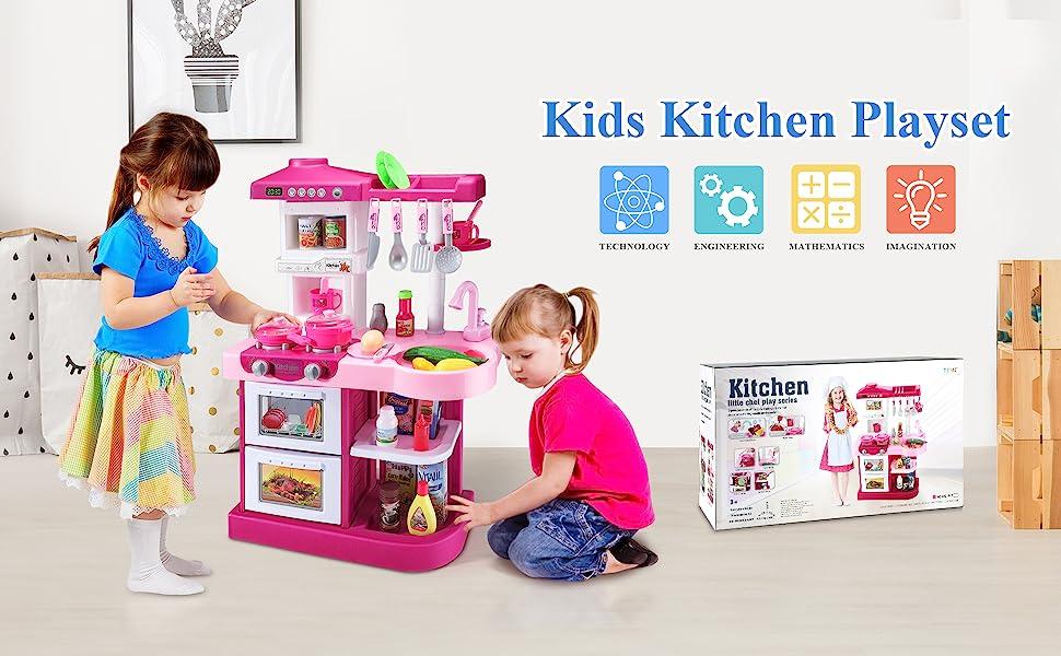 Play Food for kids kitchen under 20