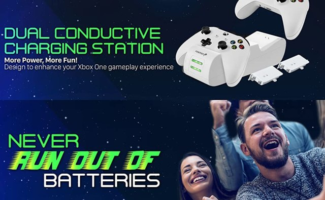 white xbox controller charger