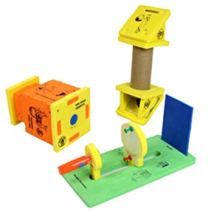 3in 1 Combo Science Activity box Magnet Circuit Board Periscope Camera