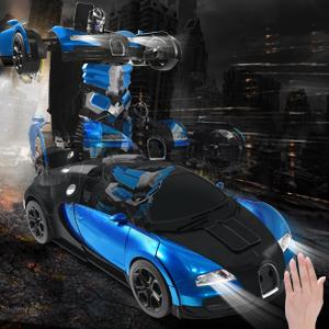 Gesture Sensing Transformrobot Car