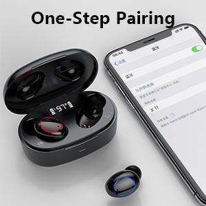 touch control wireless earbud bluetooth earphone earpiece