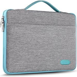 HSEOK Slim Laptop Sleeve 15 15.6 16 inches Case Water resistant Briefcase
