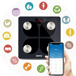 13 metrics reading in RENPHO rechargeable scale