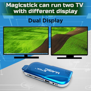 Magicstick Dual Display