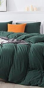 Jersey Knit Cotton Duvet Cover Set