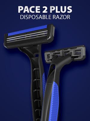 LetsShave Dorco Pace 2 disposable razor men