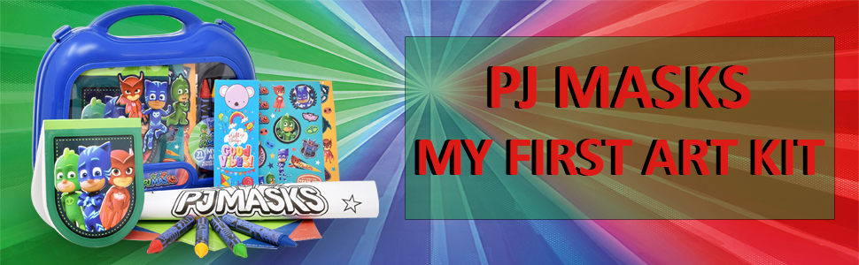 PJ MASKS MY FIRST ART KIT