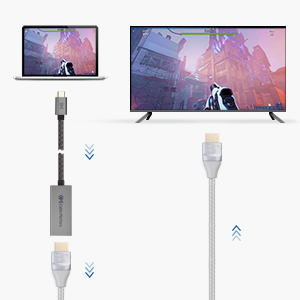 USB-C to HDMI 2.1 Adapter