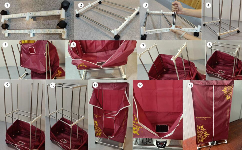 clothes dryer electric portable