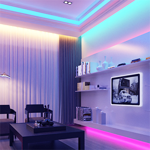 led strip lights for bedroom