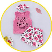 baby girl pant sets