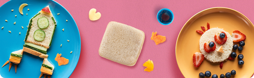 Kids Sandwich Shape Cutters