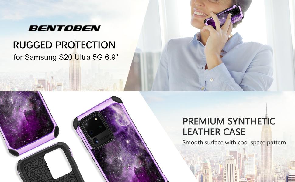 BENTOBEN Samsung Galaxy S20 Ultra 5G Case