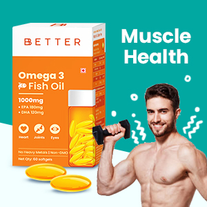 Omega 3 Fish Oil Supplement for muscle, Omega 3 Fatty Acid capsule for muscle, Omega 3 for men
