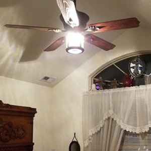 fans light remote