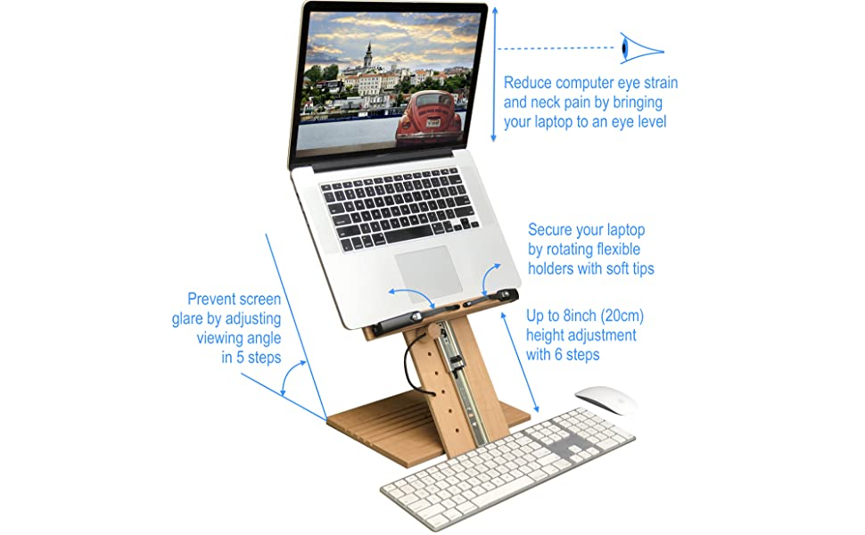 A+ Book Stand BS1500PRO Book holder bookstands for reading textbook cookbook laptop tablet cellphone