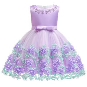 purple baby girl dress