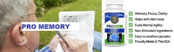 PROMEM: Pro memory as the name says ENHANCES MEMORY - Remember more information