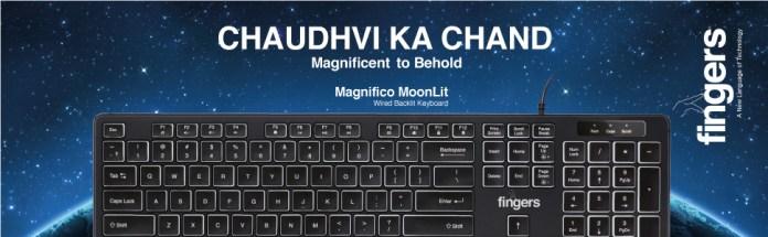 FINGERS Magnifico MoonLit Keyboard