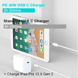 ipad fast charger